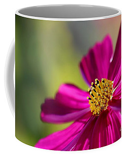Coffee Mug featuring the photograph Yellow Dots by Henrik Lehnerer