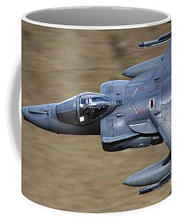 A Royal Air Force Harrier Gr9 Flying Coffee Mug