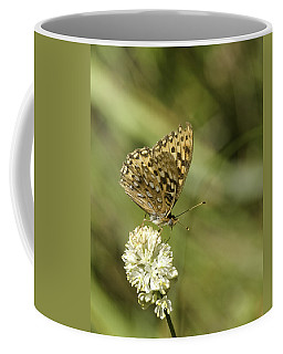 Coffee Mug featuring the photograph Butterfly by Betty Depee