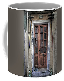 Old Italian Door Coffee Mug