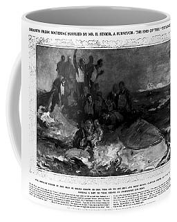 Titanic: Sinking, 1912 Coffee Mug