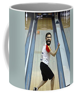 Coffee Mug featuring the digital art 300 by Paul Van Scott
