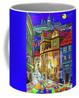 Prague Old Street Coffee Mug