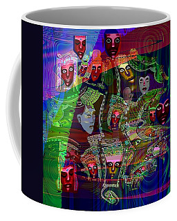 636 People Masks Coffee Mug