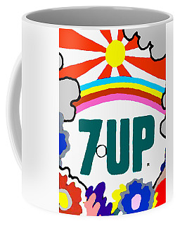 Coffee Mug featuring the painting 7-up Special by Paul Van Scott