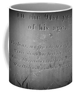 Coffee Mug featuring the photograph 91 by Bruce Carpenter