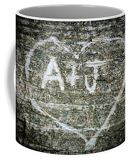 Coffee Mug featuring the photograph A And J by Julia Wilcox