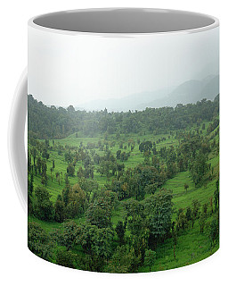 A Beautiful Green Countryside Coffee Mug