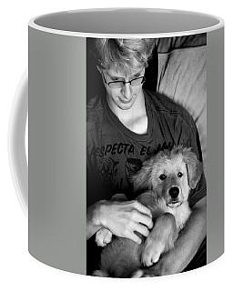 A Boy And His Dog Coffee Mug