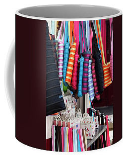 Coffee Mug featuring the photograph A Brand New Bag by Lorraine Devon Wilke