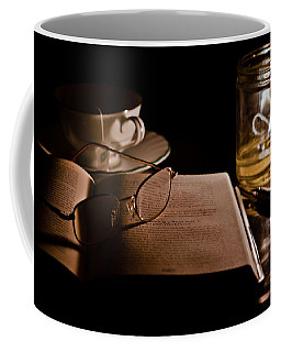 A Candlelight Scene Coffee Mug