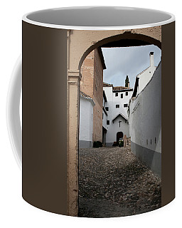 Coffee Mug featuring the photograph A Church In There by Lorraine Devon Wilke