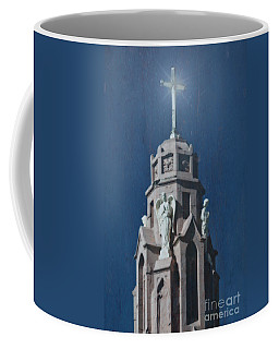 A Church Tower Coffee Mug