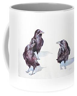 A Conspiracy Of Ravens Coffee Mug