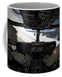 A Cv-22 Osprey Onducts Aerial Refueling Coffee Mug