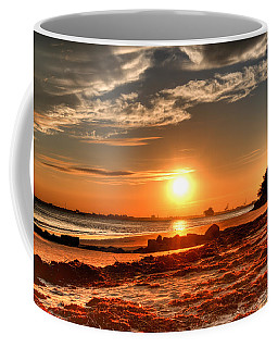 A Day Ends Over Charleston Coffee Mug