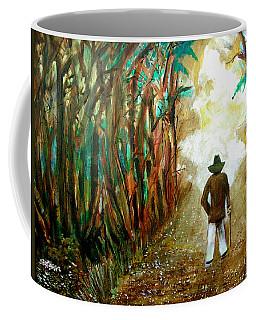 A Fall Walk In The Woods Coffee Mug