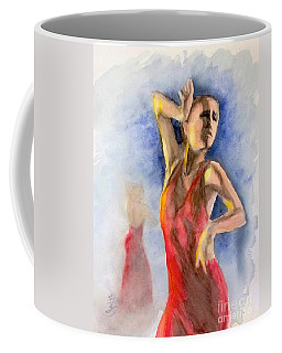 A Flamenco Dancer  2 Coffee Mug by Yoshiko Mishina