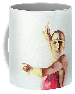 A Flamenco Dancer Coffee Mug by Yoshiko Mishina