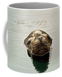 Coffee Mug featuring the photograph A Friendly Hello by Mitch Shindelbower
