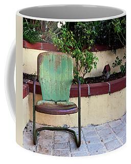A Green Chair Coffee Mug