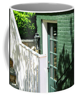 A Green Door Coffee Mug