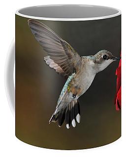 A Lady At Lunch Coffee Mug