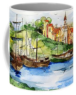 A Little Fisherman's Village Coffee Mug