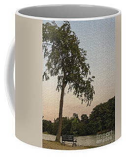 A Lonely Park Bench Coffee Mug