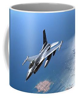 A New York Air National Guard F-16 Coffee Mug