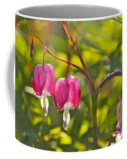 A Pair Of Bleeding Hearts Coffee Mug by Sean Griffin
