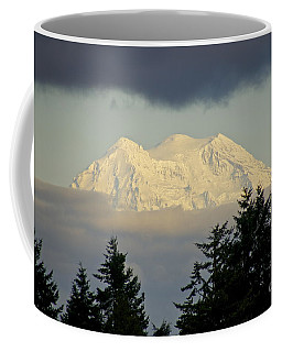 A Peek At The Peak Coffee Mug