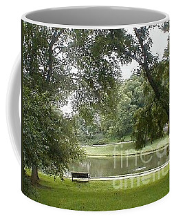 Coffee Mug featuring the photograph A Quiet Place by Vonda Lawson-Rosa