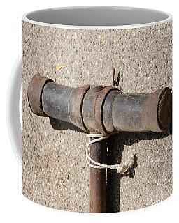 A Really Old Hammer Coffee Mug by Randy J Heath