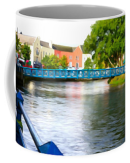 Coffee Mug featuring the photograph A River Runs Through It by Charlie and Norma Brock