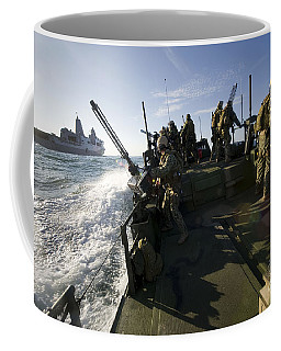A Riverine Squadron Conducts Security Coffee Mug