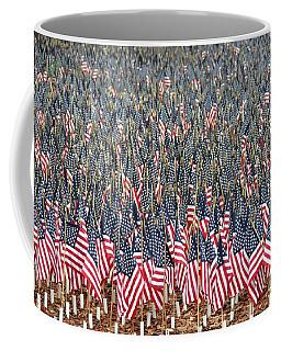 A Thousand Flags Coffee Mug by John Black