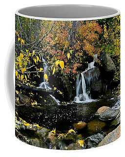 Coffee Mug featuring the photograph A Touch Of Fall  by Mitch Shindelbower
