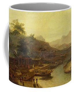 A View In China - Cultivating The Tea Plant Coffee Mug