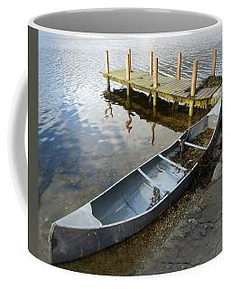 Coffee Mug featuring the photograph Abandoned Canoe by Lynn Bolt