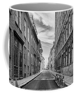 Coffee Mug featuring the photograph Abandoned Street by Eunice Gibb