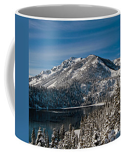 Coffee Mug featuring the photograph Above Cascade Lake by Mitch Shindelbower