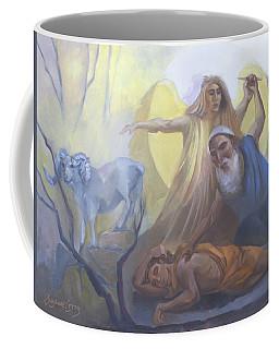 Abraham And Issac Test Of Abraham Coffee Mug