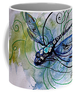 Abstract Dragonfly 10 Coffee Mug