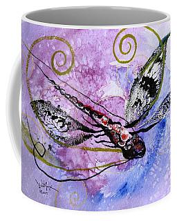 Abstract Dragonfly 6 Coffee Mug