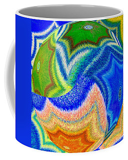 Coffee Mug featuring the digital art Abstract Fusion 155 by Will Borden