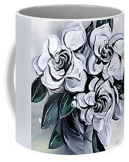 Abstract Gardenias Coffee Mug