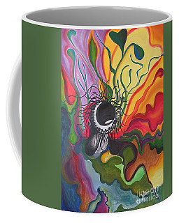Abstract Underwater Anemone Coffee Mug