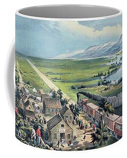 Across The Continent Coffee Mug