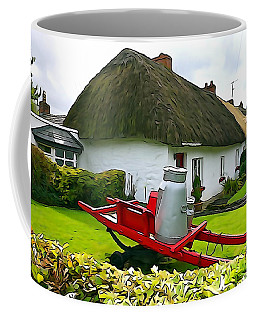 Coffee Mug featuring the photograph Adare Cottage by Charlie and Norma Brock